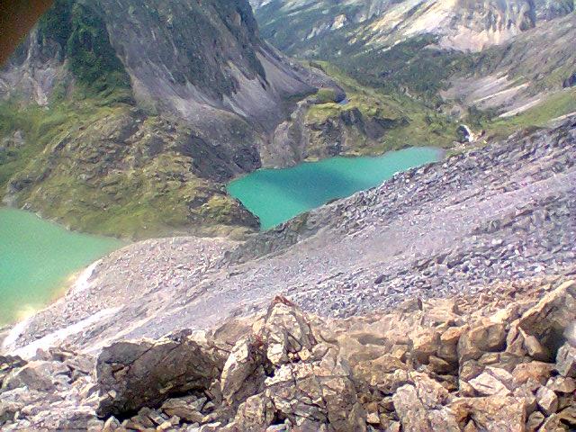 Мраморные озера с пер. Ветренный